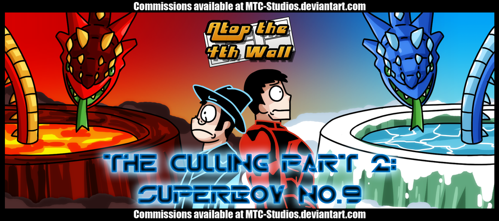 AT4W: The Culling Part 2- Superboy No.9 by MTC-Studio