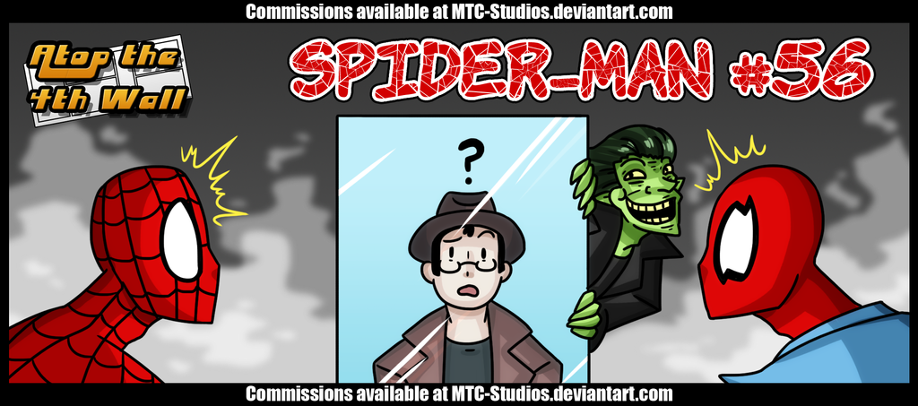 AT4W Classicard : Spider-Man #56 by MTC-Studios