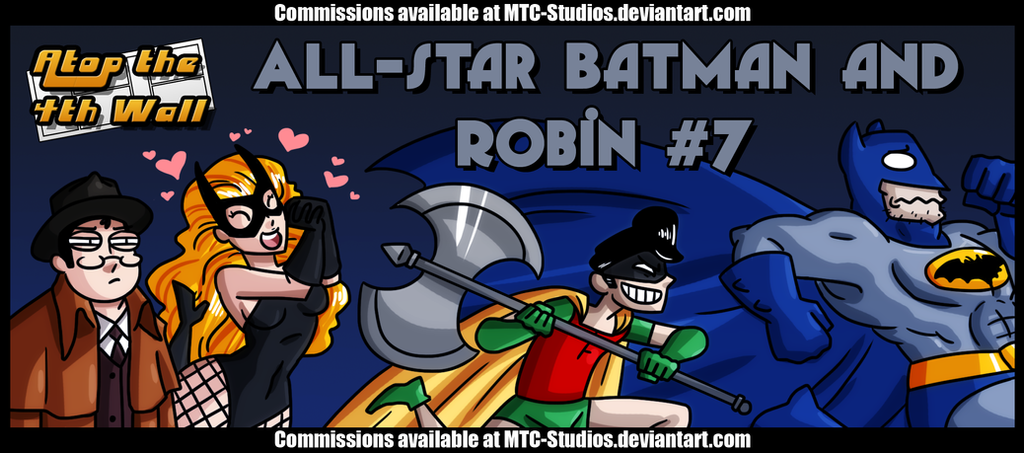AT4W: All-Star Batman and Robin #7 by MTC-Studio