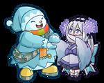 Ghostrick: Jackfrost and Yuki-onna