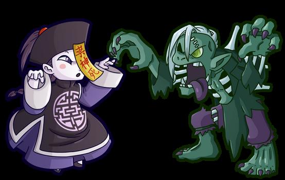 Ghostrick: Jiangshi and Ghoul