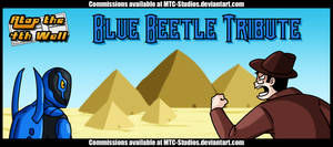 AT4W Classicard: Blue Beetle Tribute by DrCrafty