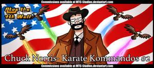 AT4W: Chuck Norris- Karate Kommandos #2 by DrCrafty