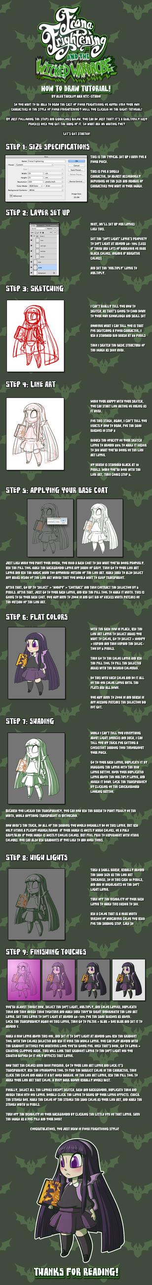 Wicked Wardrobe: Fiona Frightening Style tutotial by DrCrafty