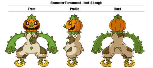 Wicked Wardrobe: Jack-O-Laugh turnaround
