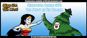 AT4W: Sensation Comics #14-The Story of Fir Balsam by DrCrafty