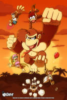 Crafty Concoction: Donkey Kong - PRINT AVAILABLE by DrCrafty