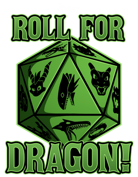 Crafty Merch: Roll for Dragon