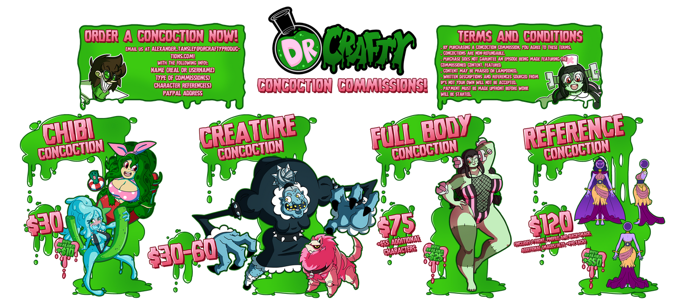 Dr Crafty Concoctions: OPEN! by DrCrafty