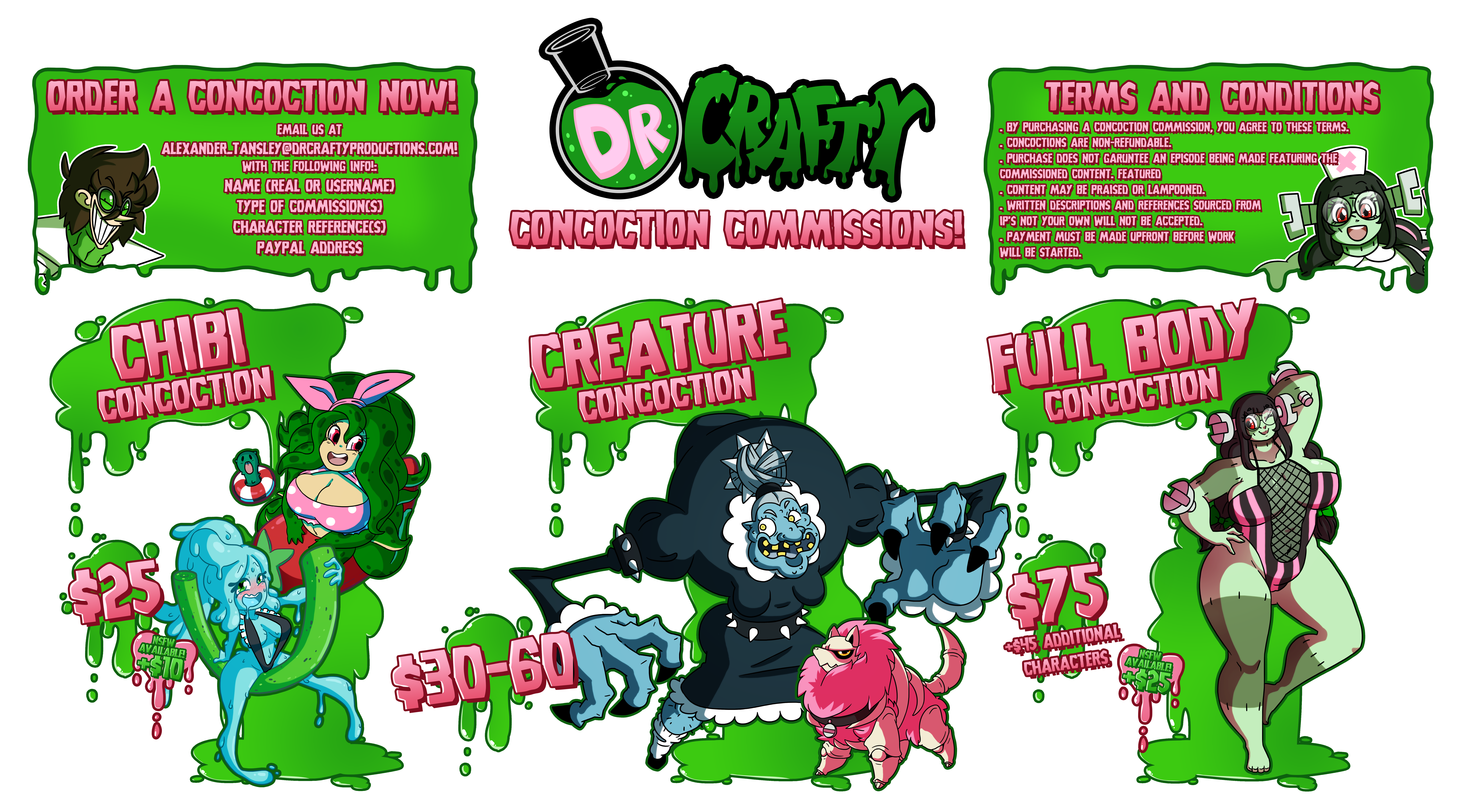 Dr Crafty Concoctions: Closed! by DrCrafty