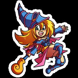 Crafty Concoction: Dark Magician girl by DrCrafty