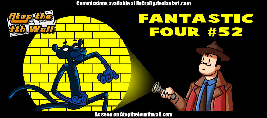 AT4W: Fantastic Four no.52 by DrCrafty