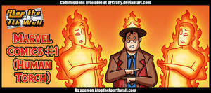 AT4W: Marvel Comics #1 (Human Torch) by DrCrafty