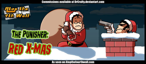 AT4W: Punisher Red xmas by DrCrafty