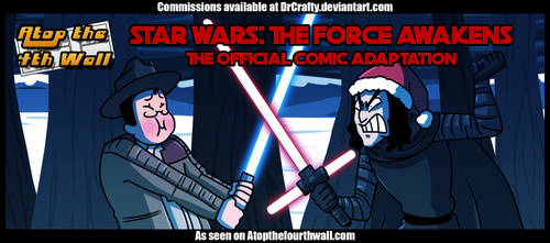 AT4W: The Force awakens comic by DrCrafty