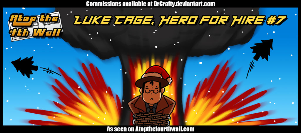 AT4W: Luke Cage, Hero for Hire #7 by DrCrafty
