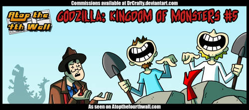 AT4W: Godzilla- Kingdom of Monsters #5 by DrCrafty