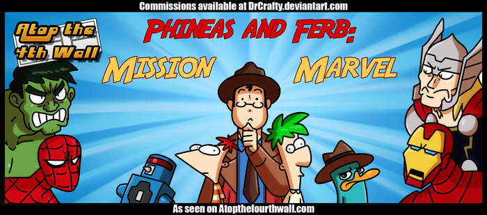 AT4W: Phineas and Ferb - Mission Marvel