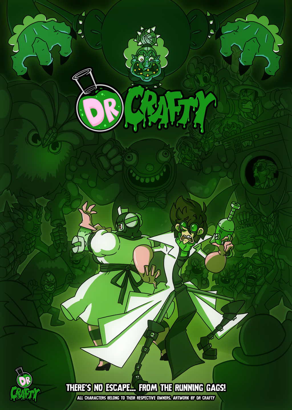 Crafty Concoction: Dr Crafty Poster by DrCrafty