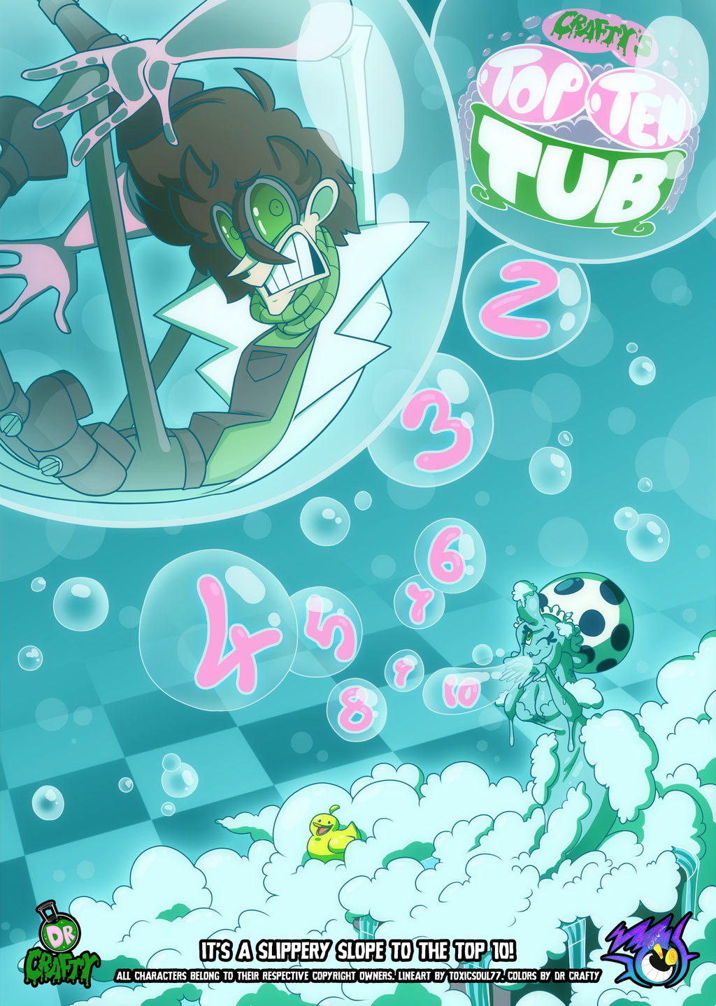 Crafty Concoction: Top 10 Tub Poster by DrCrafty
