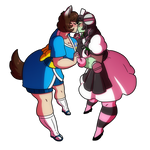 Crafty Concoction: Crafty Ship - Nurse + Yuki by DrCrafty