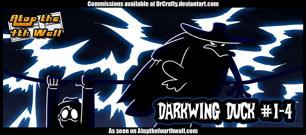 AT4W: Darkwing Duck #1-4 by DrCrafty