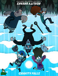 Crafty Concoction: Gravity Falls, Reality Breaks by DrCrafty