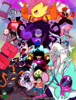Crafty Concoction: Steven Universe Poster - PRINT!
