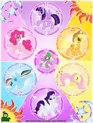 Crafty Concoction: My Little Pony Poster - PRINT! by DrCrafty