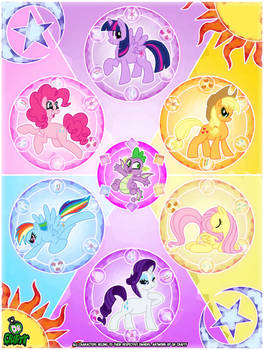 Crafty Concoction: My Little Pony Poster - PRINT!