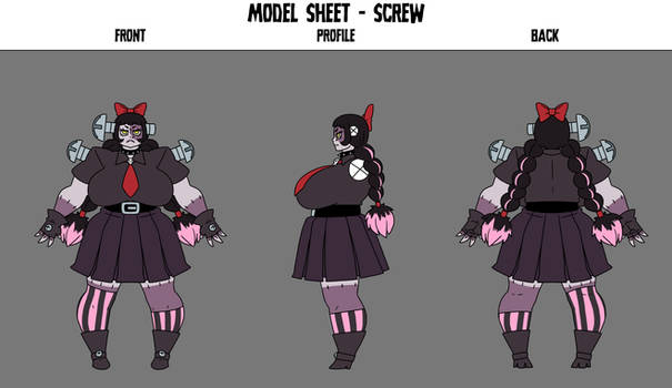 Crafty OC: Screw Character sheet