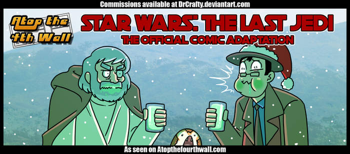 AT4W: The Last Jedi official comic