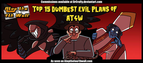AT4W: Top 15 Dumbest Evil Plans of AT4W