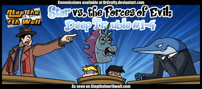 AT4W: Star vs the Forces of Evil-Deep Trouble #1-4