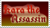 Boring Kara the Assassin stamp by wwwwolf