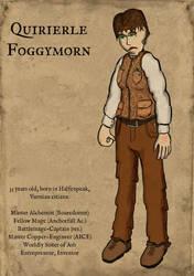 Portrait of Quirierle Foggymorn by wwwwolf