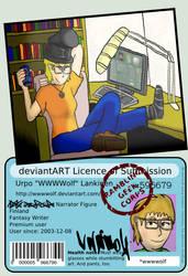 Idiothatful deviantID by wwwwolf