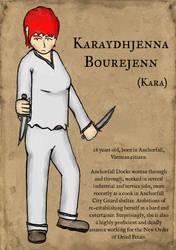 Portrait of Karaydhjenna Bourejenn by wwwwolf