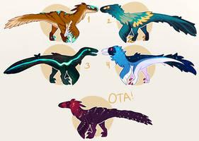 Raptor Batch [ALL TAKEN] by Fishtrout
