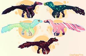More Raptors! FLATSALE [ALL TAKEN] by Fishtrout