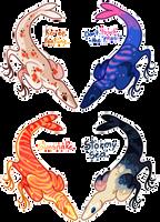 Fishraptor Batch! [ALL TAKEN] by Fishtrout