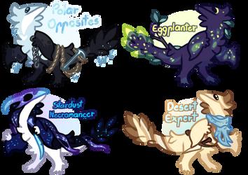 Fantasy Dinos Flatsale! [1/4 OPEN] by Fishtrout