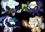 Fantasy Dinos Flatsale! [1/4 OPEN]