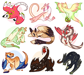March of Wyverns Flatsale! [1/9 OPEN] by Fishtrout