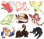March of Wyverns Flatsale! [CLOSED]