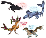 Ravens, Roses and Dragons AUCTION! [CLOSED]