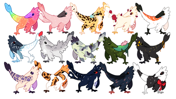 Raptor Bops Adopts [CLOSED]