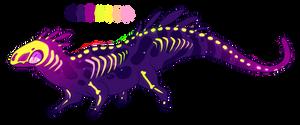 Halloween Sugar Lizard Flatsale [CLOSED]