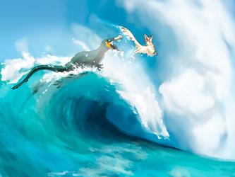 [Primeval-Age] Surf's up!