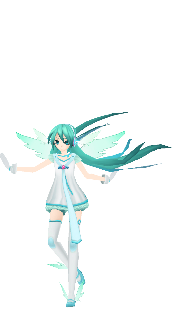 Project DIVA Angel Miku DL by Alelokk